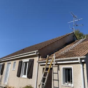 nettoyage façades et toiture maison la ferte saint aubin (2)