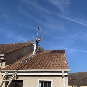 nettoyage haute pression toiture la ferte saint aubin (1)